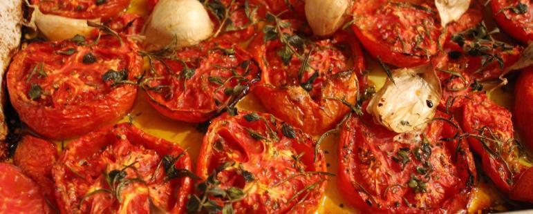 Ντομάτες φούρνου