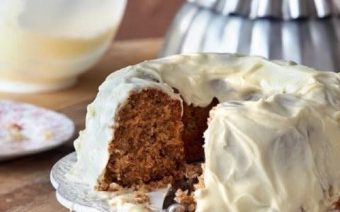 Κέικ καρότου σοκολάτας