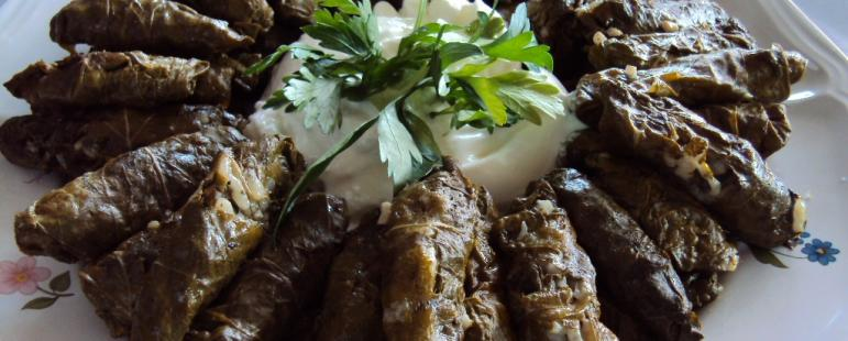 Κουπέπια (ντολμαδάκια) νηστίσιμα