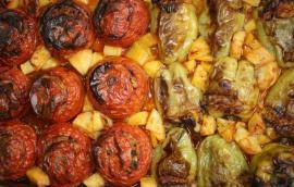 Γεμιστά πιπέρια με ρύζι