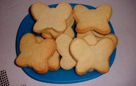 Μπισκότα βουτύρου Χριστουγεννιάτικα