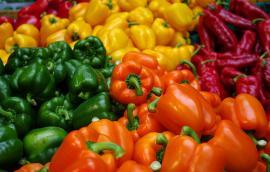 Βιολογικά πιπεριά
