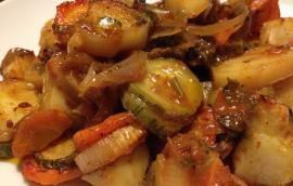 Μπριάμ  λαχανικά μεγαλύτερη νοστιμιά