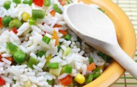 Ρύζι με ανάμεικτα λαχανικά