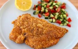 Σνίτσελ Κοτόπουλο